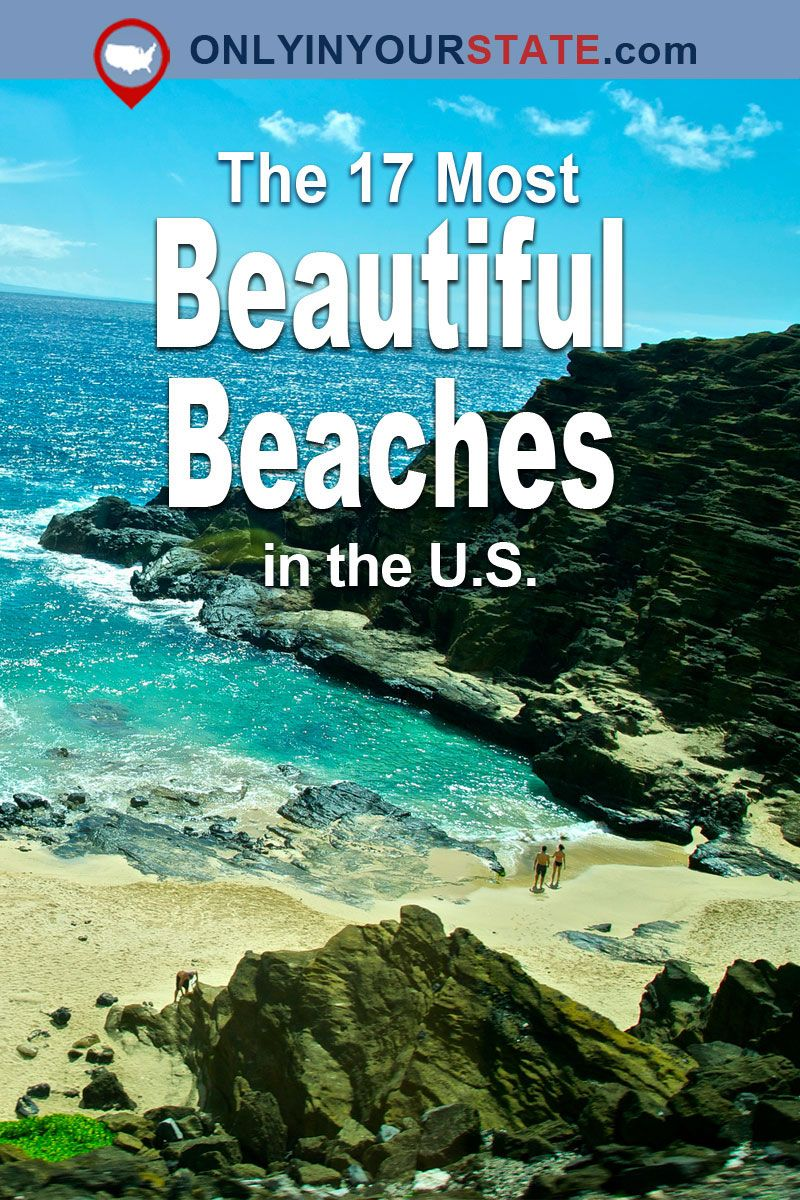These 17 Gorgeous Beaches Around The U S Will Leave You In Awe Best Us Beaches Vacation Usa Beaches Vacation Destinations