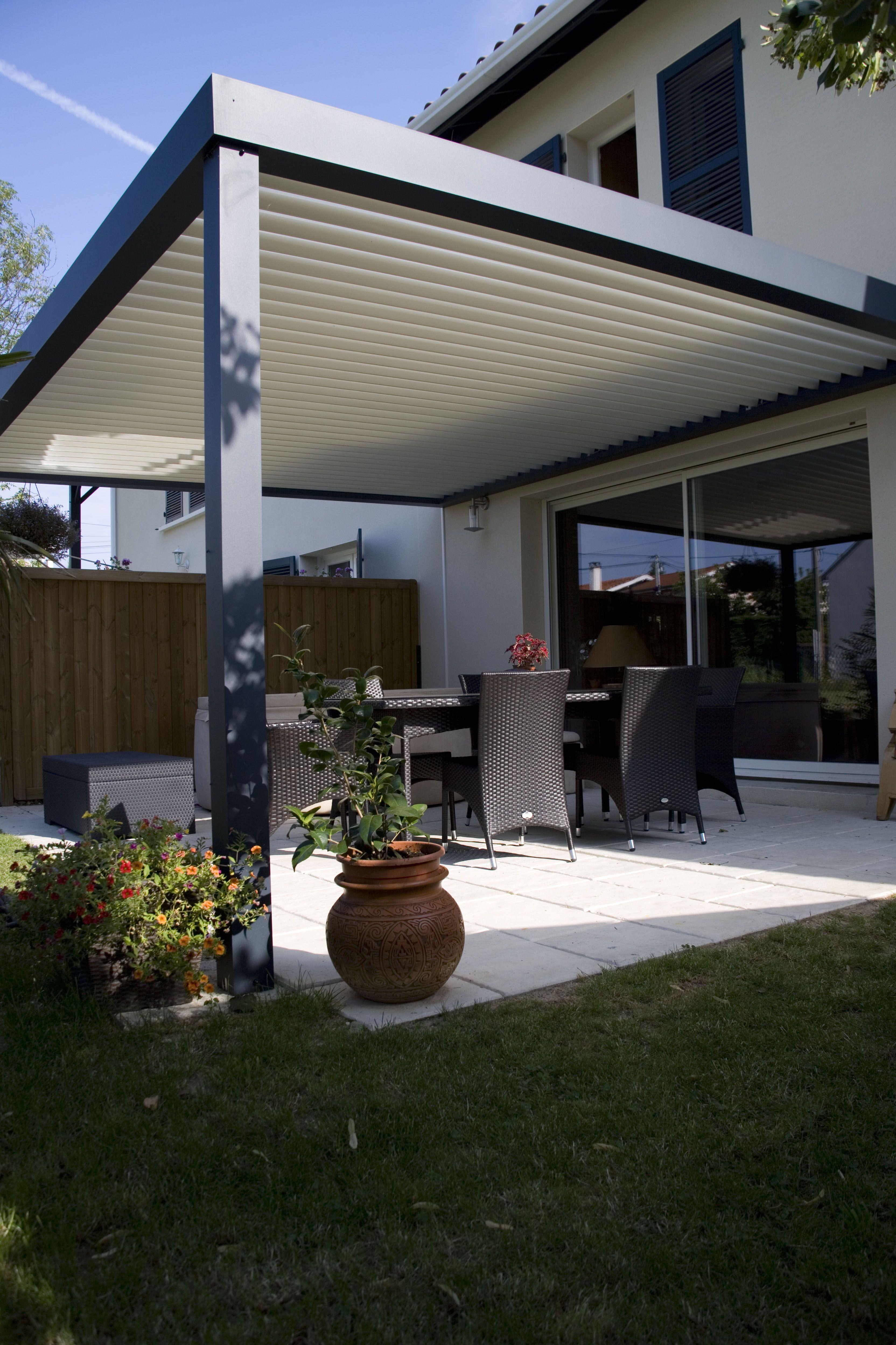 Biossun terrasoverkapping pergola couverture de terrasse | Terraza ...