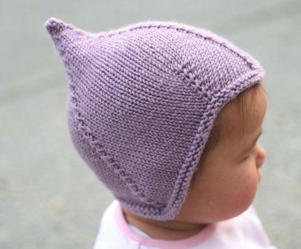Baby Pilot Style Hat Pattern Pattern By Cadi Thomas Knitting