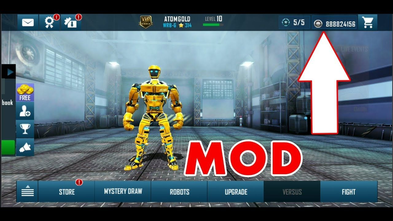 Real Steel World Robot Boxing Mod APK 41.41.271 Real