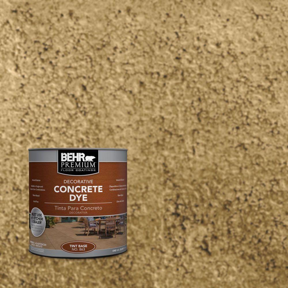 Behr Premium 1 Qt D 865 Terra Cotta Interior Exterior Concrete