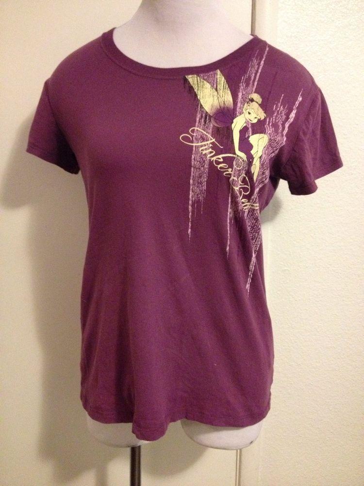 Womens Juniors Tinkerbell Shirt XL #Tinkerbell #GraphicTee