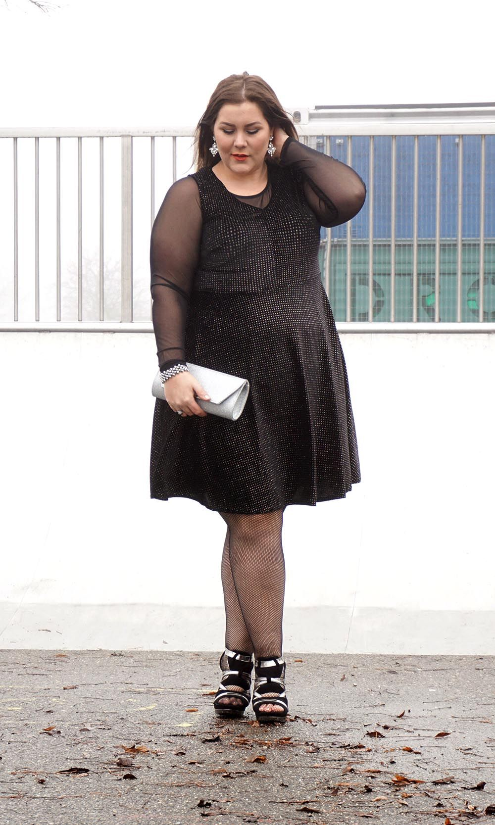ed7a5c2380a5 This sparkling dress was my look for the holidays #black velvet #Blog  #blogger