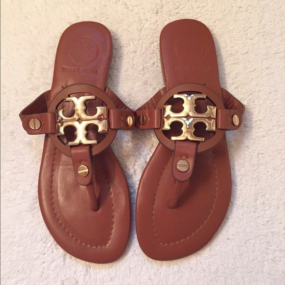 109a8a664a28b1 Tory Burch Miller sandals These are inspired. Have been worn just a few  times.