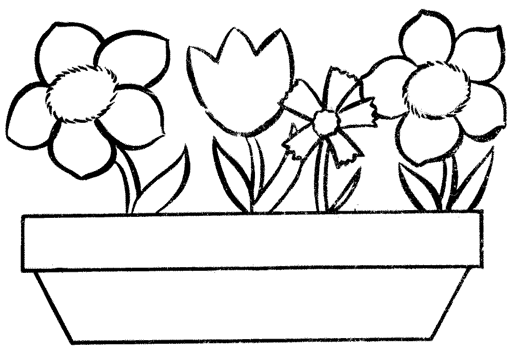 10 Mewarnai Gambar Bunga | bonikids | Coloring Page | Pinterest | Dan