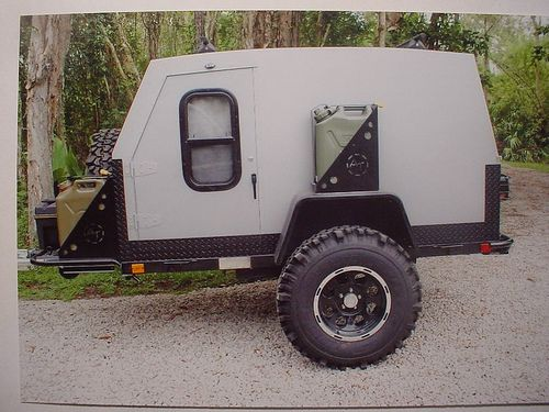 Offroad teardrop trailer Fj stuffs D Off road