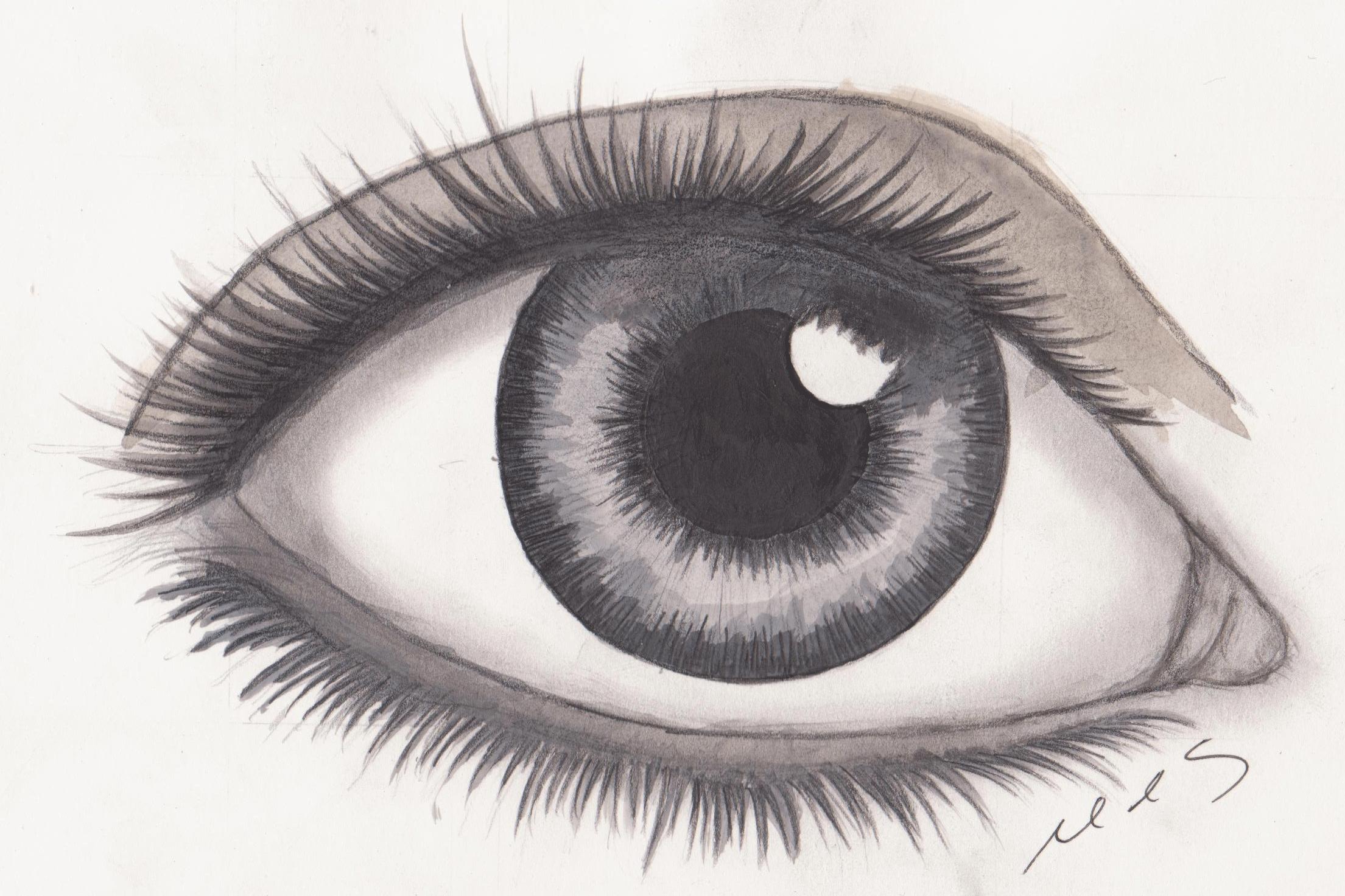 drawings of eyes - HD2209×1473