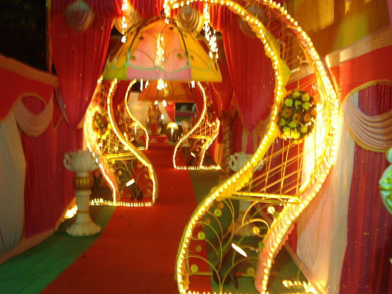 Image result for wedding decoration in india pictures entrance image result for wedding decoration in india pictures junglespirit Gallery