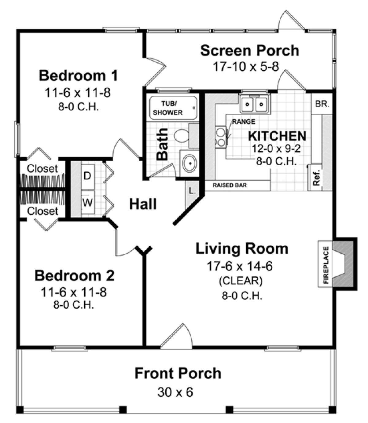 House Plan 348 00259 Country Plan 800 Square Feet 2 Bedrooms 1 Bathroom In 2020 Square House Floor Plans Square House Plans House Plan With Loft