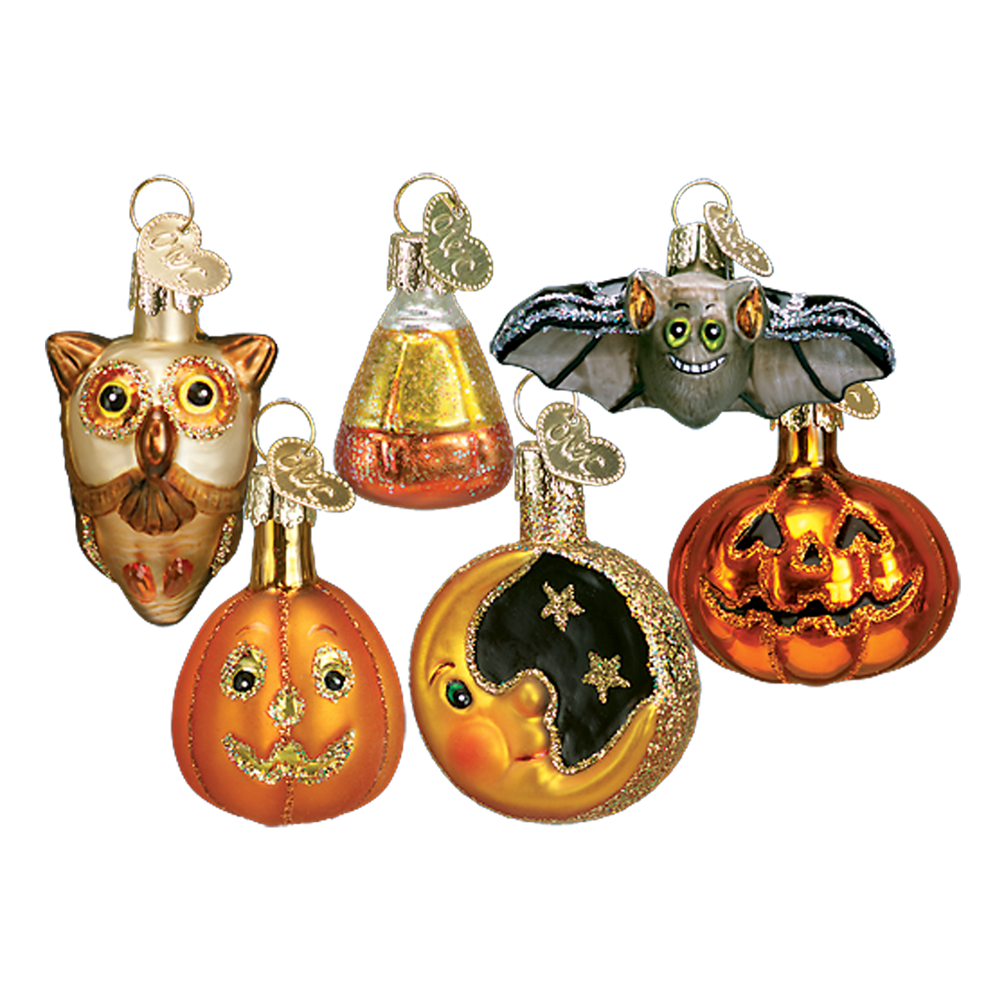 Mini Glass Halloween Ornaments (With images) Halloween