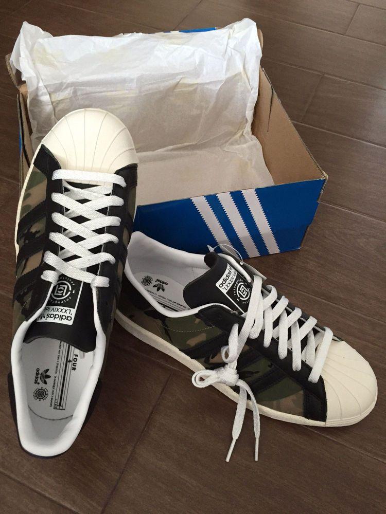more photos 0ab8a 123c4 rare adidas x kzk x clot superstar 80s 84-lab camo 8.5 us from