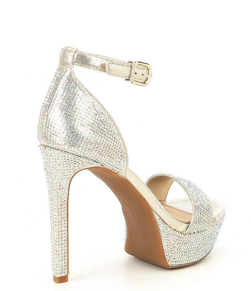 8fea7c6cd Gianni Bini Jewelson Jeweled Platform Dress Sandals#Jewelson, #Bini, #Gianni