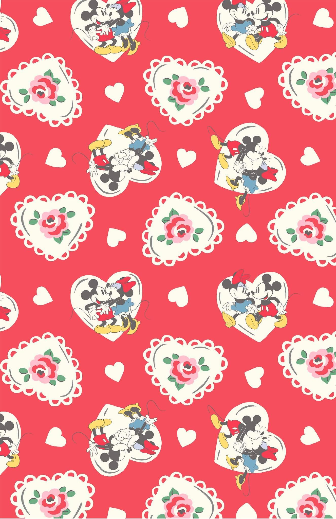 Minnie Mews Ditsy And Minnie Linen Sprig Hd Images Pinterest