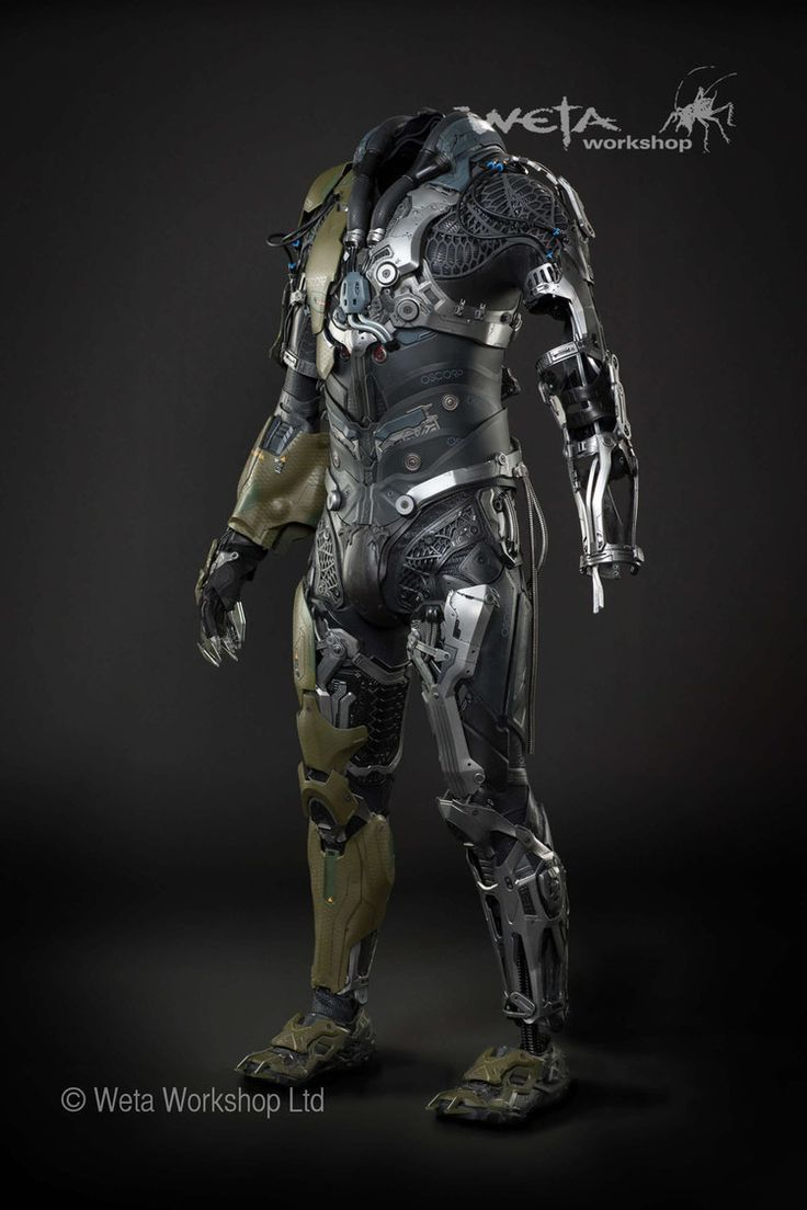 Robot army suit