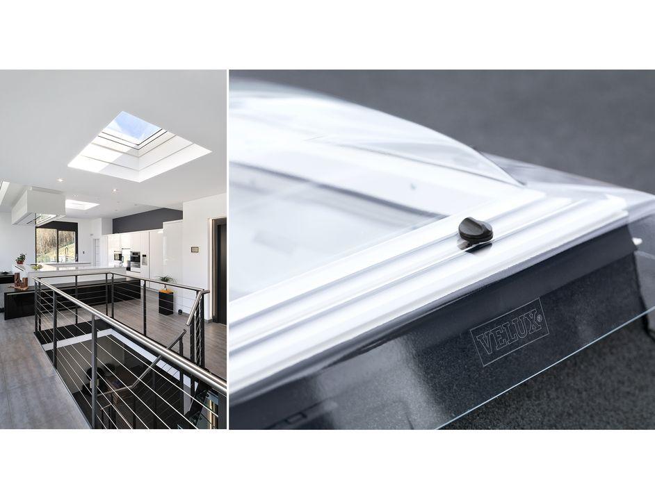 Ventana fija para techo plano de velux luxury for Ventanas para techos planos argentina