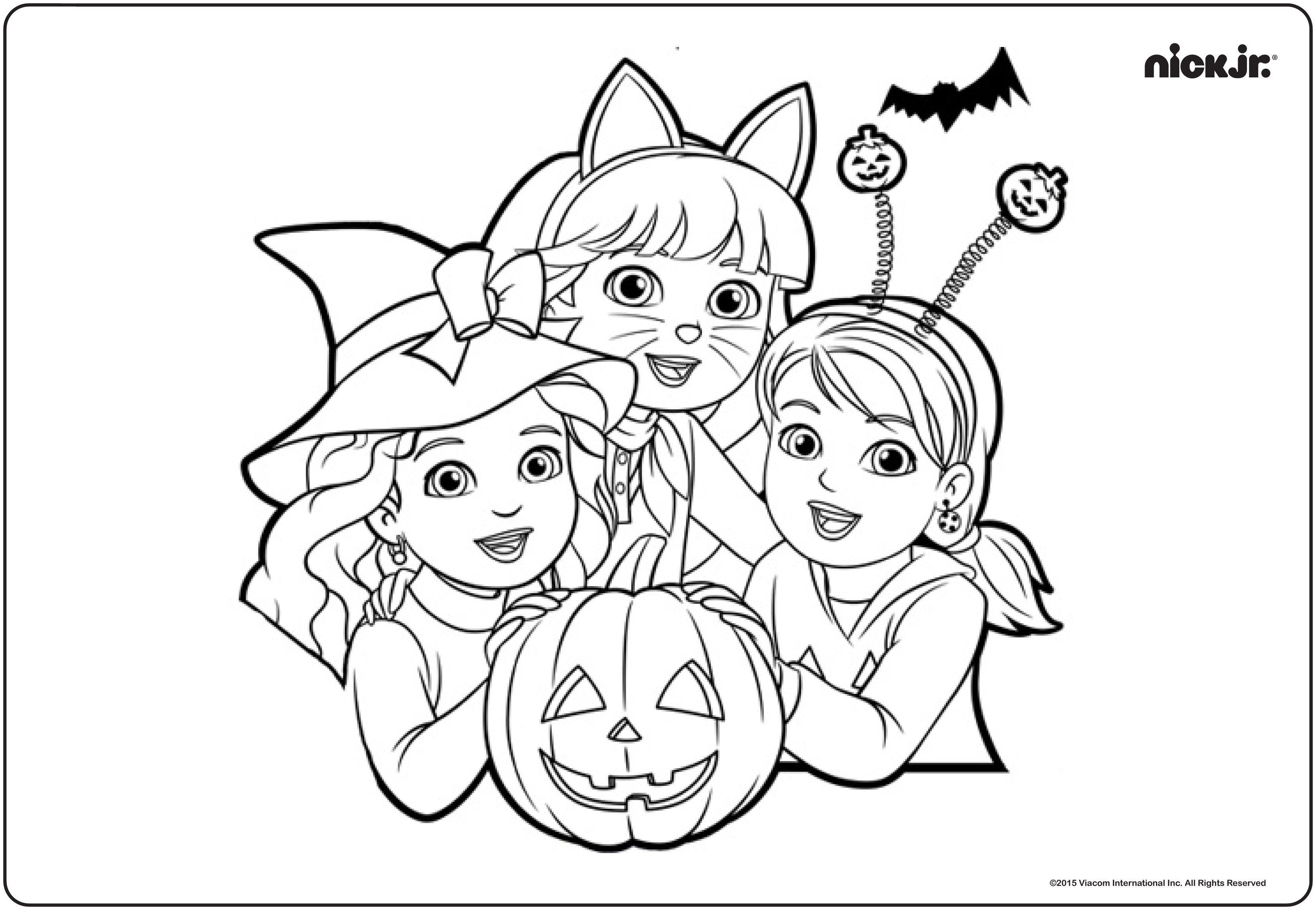 nick jr coloring pages unique shimmer and shine coloring