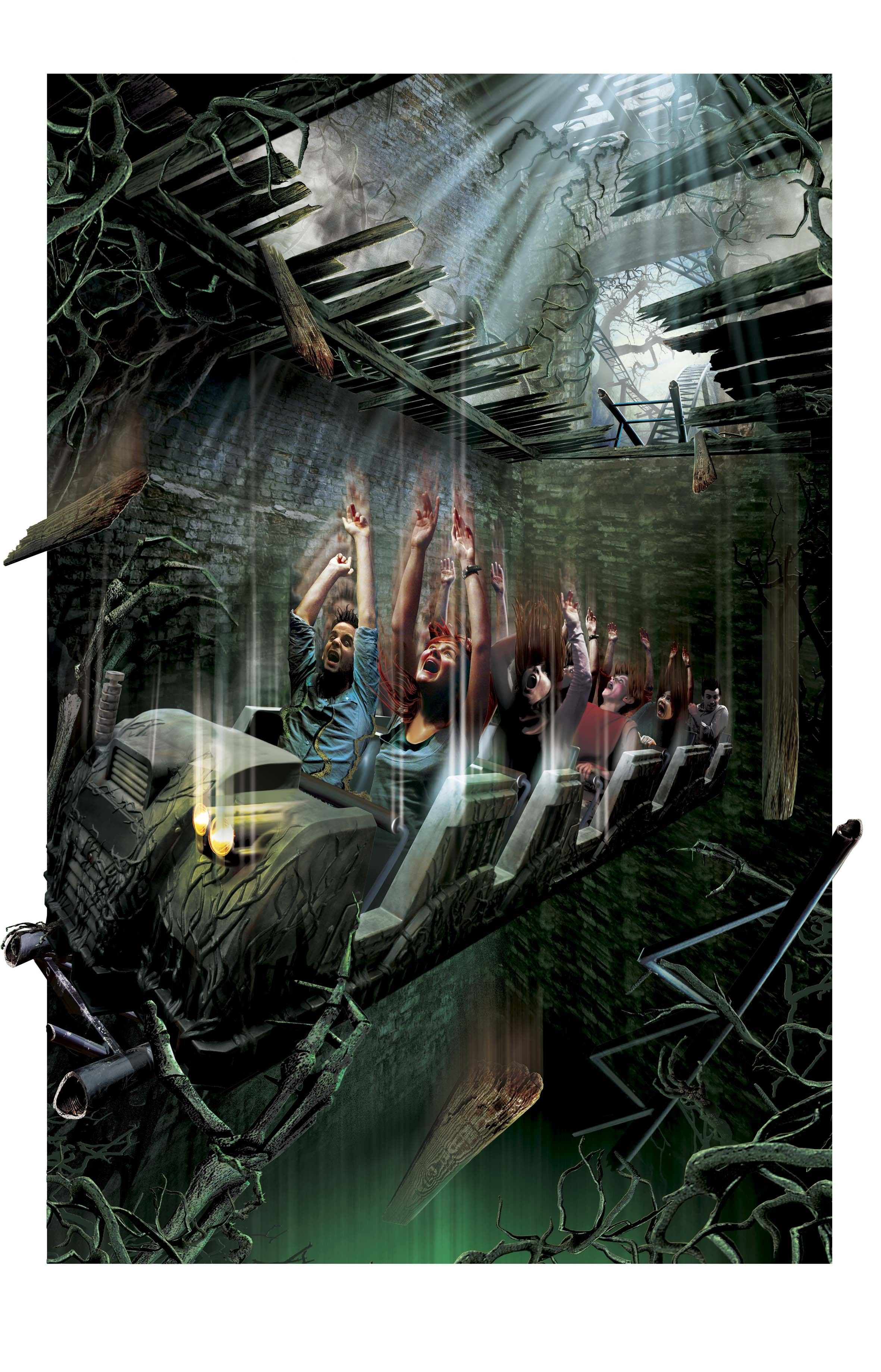 Alton Towers Wicker Man Gci Wood Forums