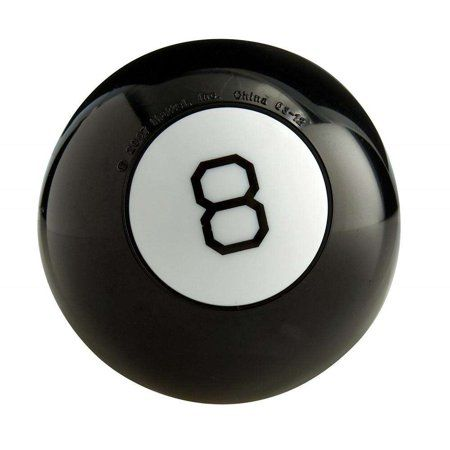 Magic 8 Ball Fortune Telling Novelty Toy By Mattel Walmart Com Magic 8 Ball Novelty Toys Ball