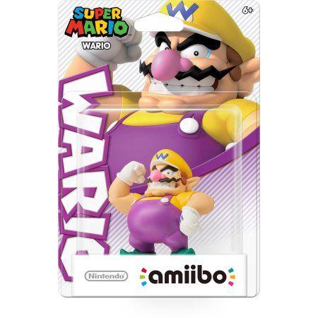 Wario Super Mario Bros Series Amiibo Wii U Multicolor