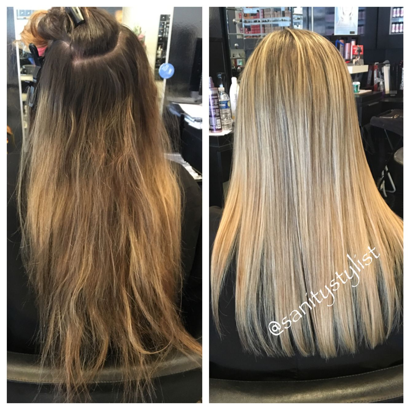 High Contrast Highlight And Lowlights Hair Colors Ideas