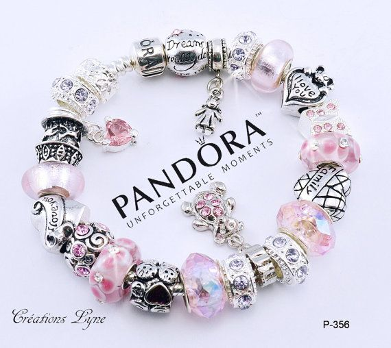 A choice - Authentic PANDORA bracelet sterling silver 925 with ...