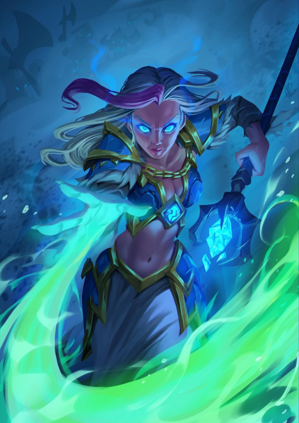 Lets share our favorite Warcraft fan-art! - Page 167