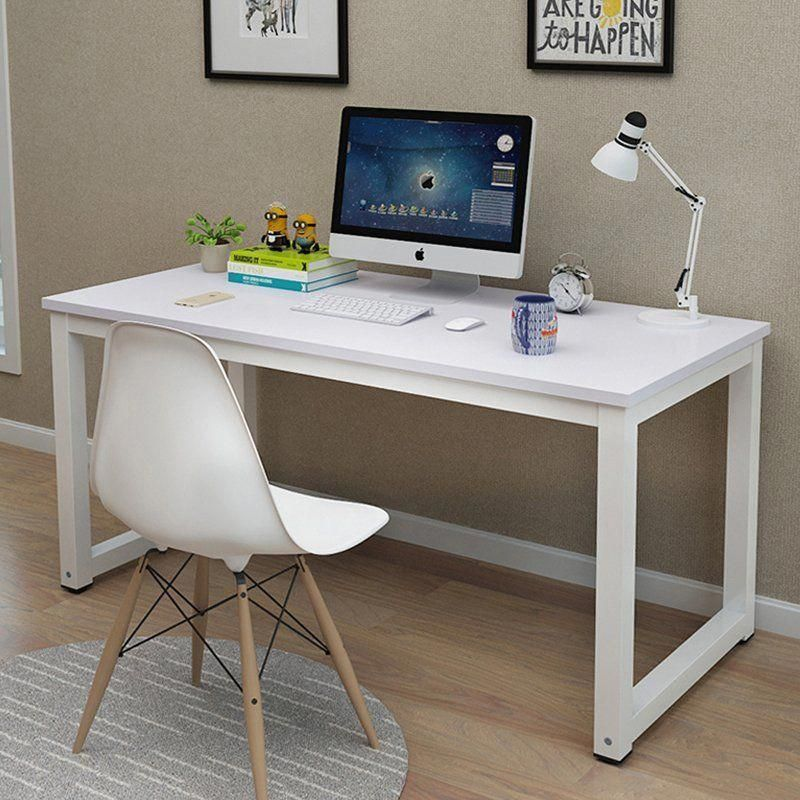 Simple Computer Desk Pc Laptop Table Workstation Study Home Office Furniture New Modernhomeofficefurnit Muebles Para Tv Mesas Madera Y Hierro Muebles De Metal
