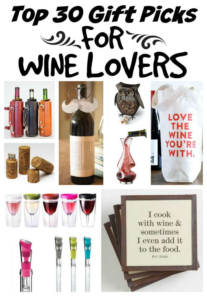 Wine Lovers Will Adore These 30 Unique Gift Ideas | Mindful, Wine ...