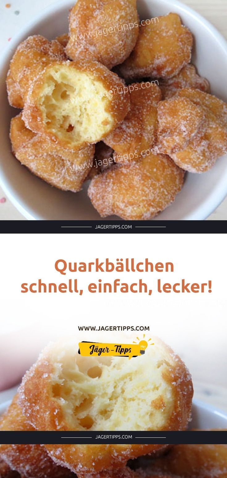 Photo of Quarkbällchen – schnell, einfach, lecker! – My Blog