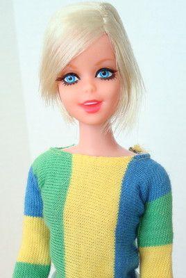 Amazing Mod Twist N Turn Twiggy Francie Doll Mint 3 Day | eBay