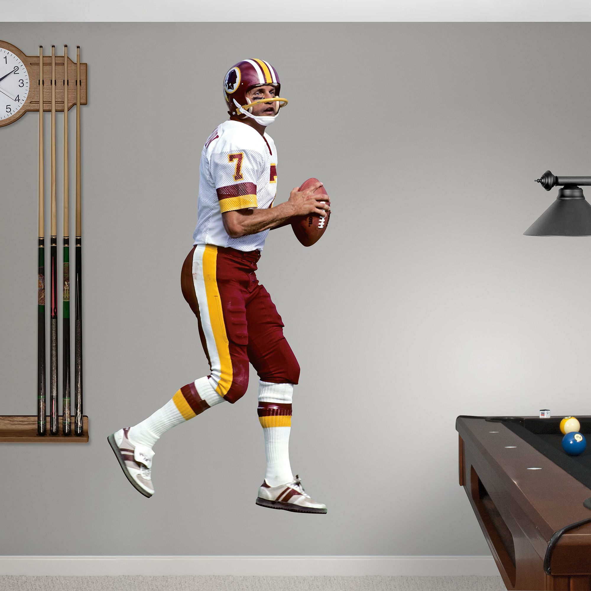 Fathead Wall Decal | Washington Redskins Wall Decal | Sports