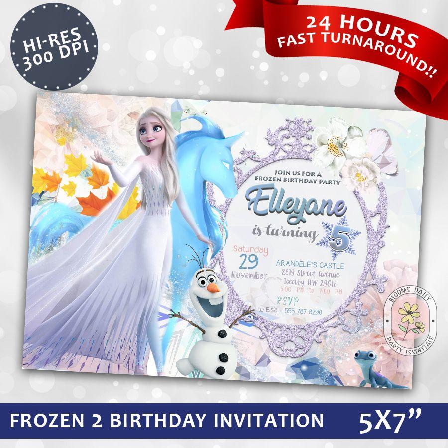 Frozen (Disney) Birthday Party Ideas Photo 2 of 24