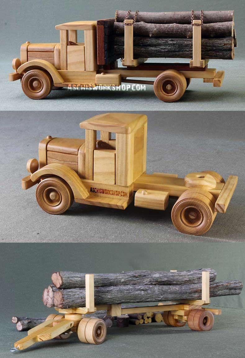 Wooden Toys Trucks 67