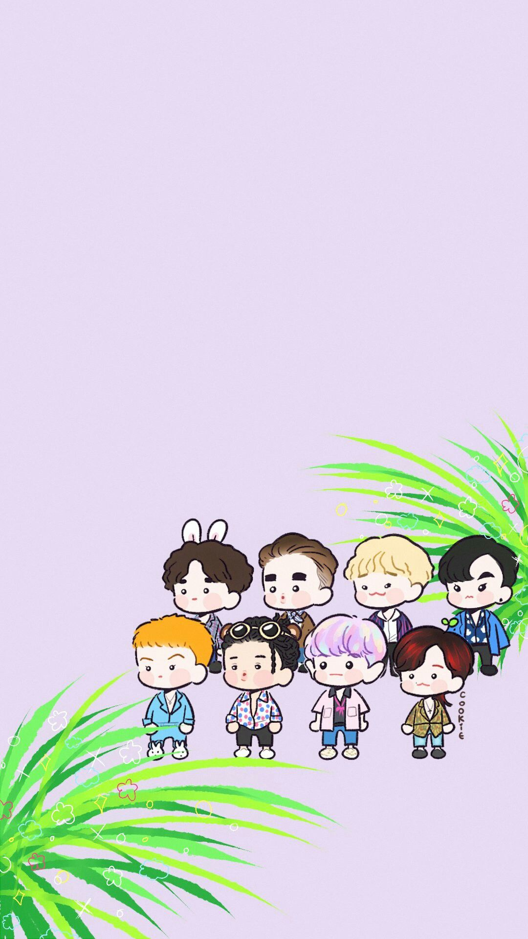 Team EXO Penguin Kyung Kyung iphone case