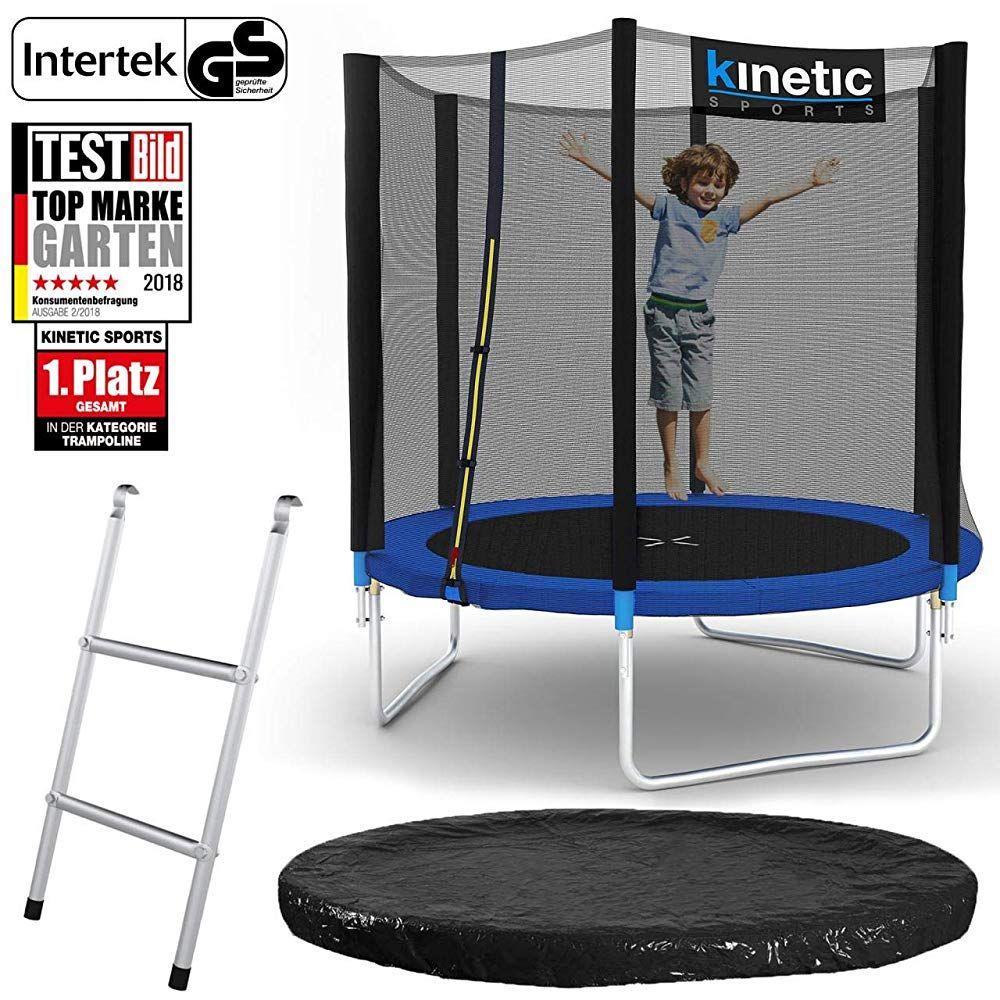 Kinetic Sports Outdoor Gartentrampolin Set Inkl Sprungtuch Aus Usa Pp Mesh Sicherheitsnetz Eur 116 99 Eur 39999 4 0 Von Gartentrampolin Trampolin Sport