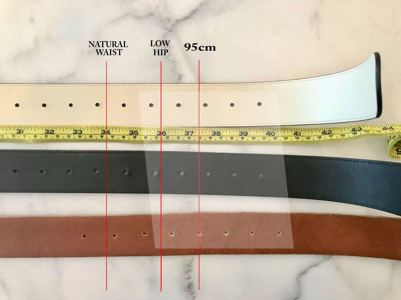 Gucci marmont belt sizing and adding holes stefana