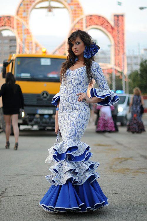 Seville Fashion: Feria De Abril, Sevilla. Spain