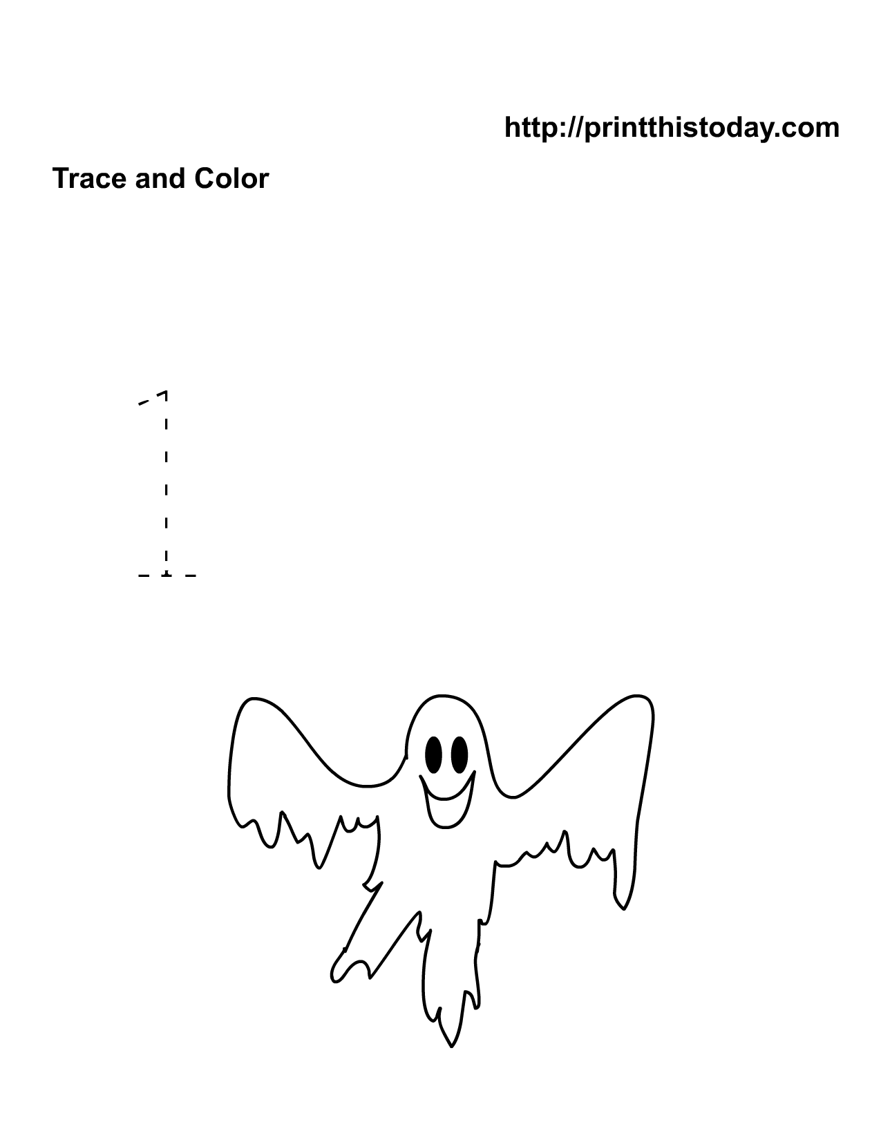 Number One Halloween Math Worksheet Free Printable Worksheets And