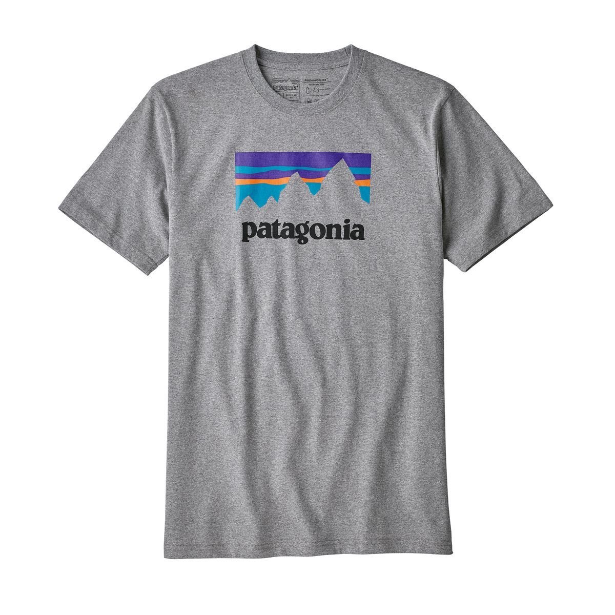 PatagoniaMens Shop Sticker Long-Sleeved Responsibili-TeeDolomite Blue