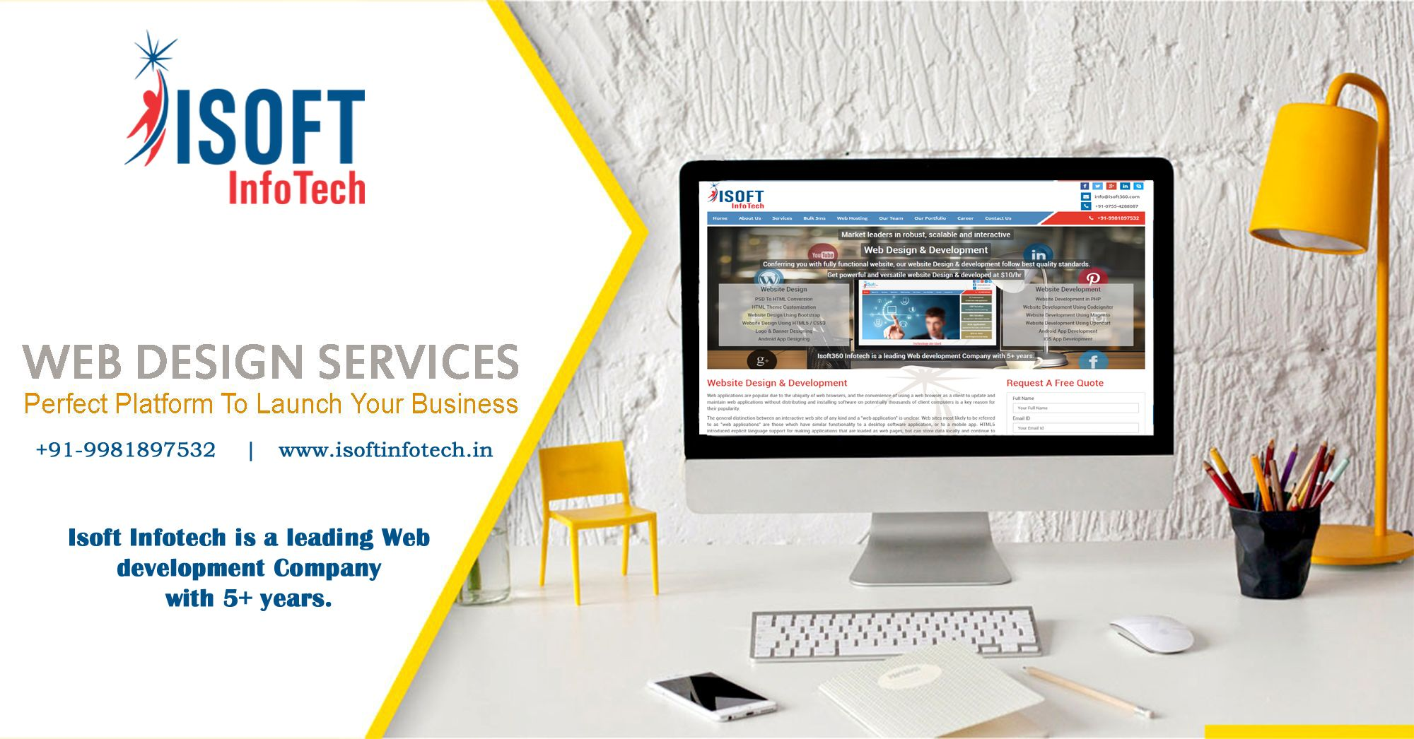 services development company years isoft infotech leading