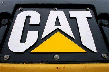 A unique view of a #Cat logo   Cat Logos   Caterpillar