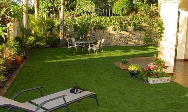 Patios casa campo decorados con plantas buscar con google jardiner a pinterest garden - Patios decorados con plantas ...