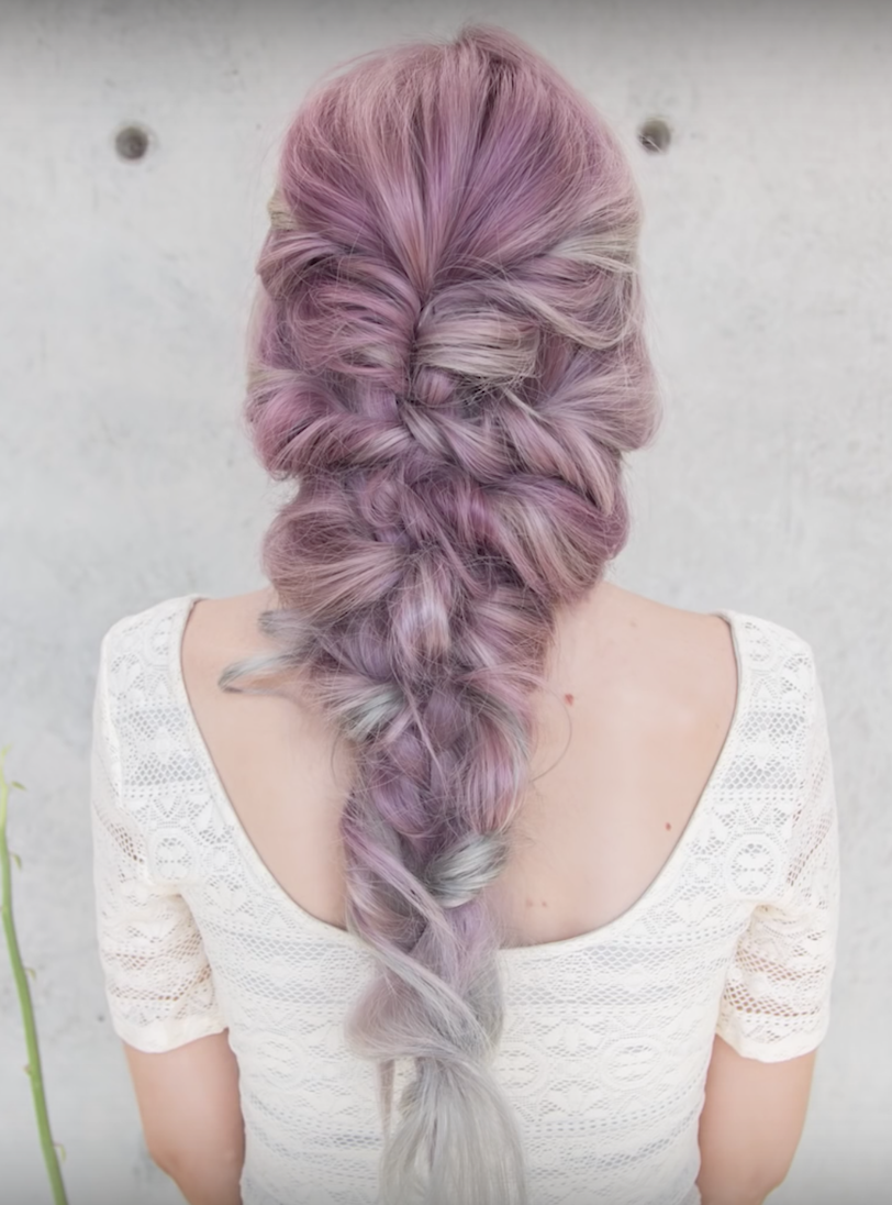 Mermaid braid   confessions of a hairstylist   Braids   Pinterest     Mermaid braid   confessions of a hairstylist