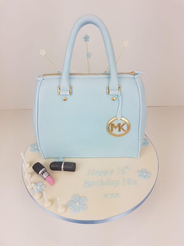 A Michael Kors Handbag Cake Perfect For S Birthday As You Can Never Have Too Many Handbags Designer Novelty