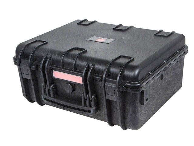 "Weatherproof Polypropylene Case with Customizable Foam - L18.86"" x W16.34"" x D8.54"" - Monoprice.com"