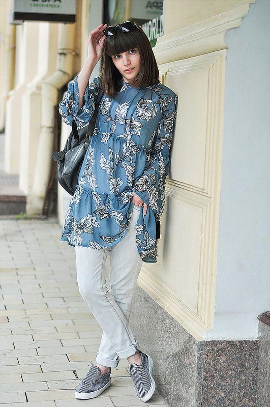 Sheinside blue dress summer