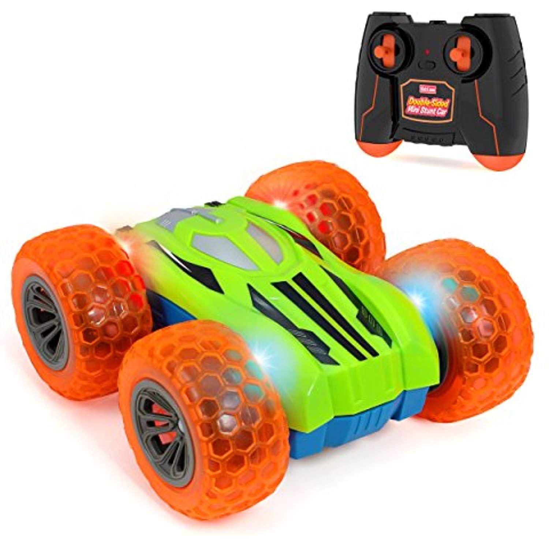 Kidzlane Remote Control Car Mini DoubleSided Stunt Car
