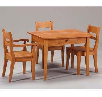 Kindertisch holz  Kindermöbel:Kindertisch mit Schublade | for the baby | Pinterest ...