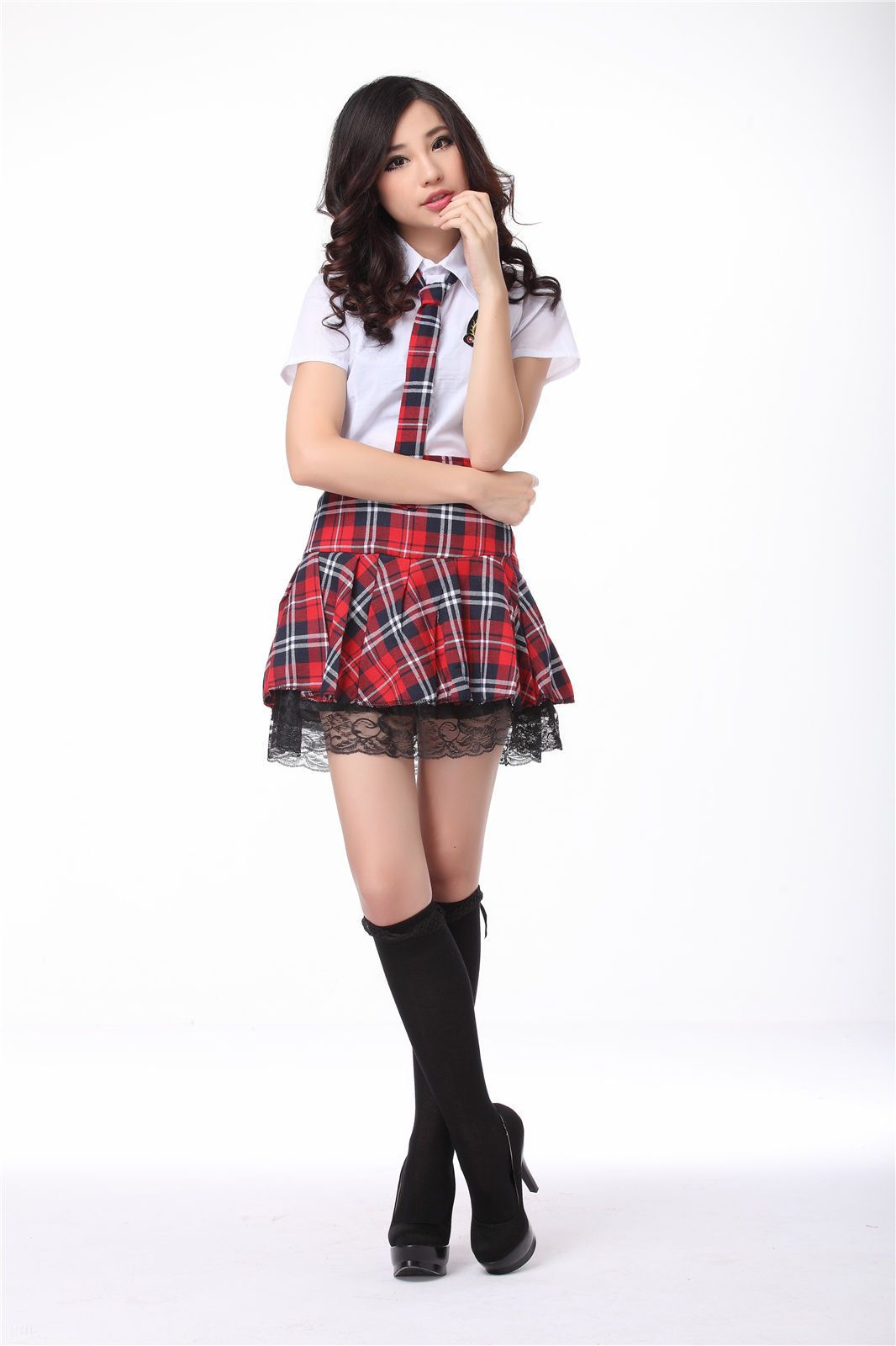 Costumes Clothing, Shoes & Accessories Halloween Women Schoolgirl Students Cosplay Costume Ladies Dress Uniform Outfit Handsome Appearance