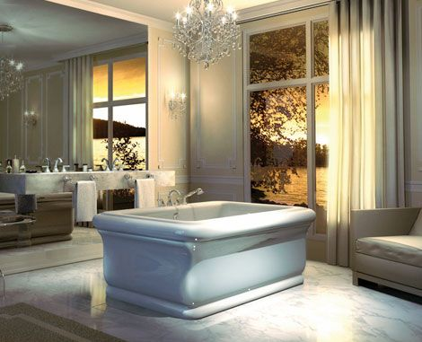 Elegant Bathtubs   Roman Bathtub And Tub On Legs By Maax